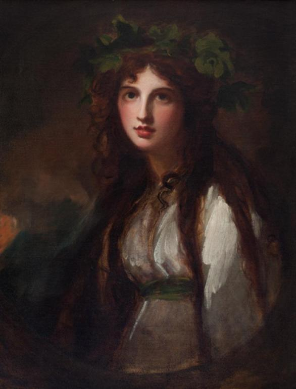 Emma Hamilton as Bacchante - Jean Kislack Collection