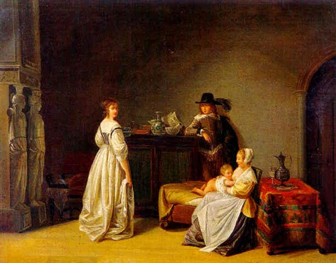 jean-baptiste-mallet-a-couple-in-an-interior-with-a-wet-nurse-and-child-all-in-17th-century-costume