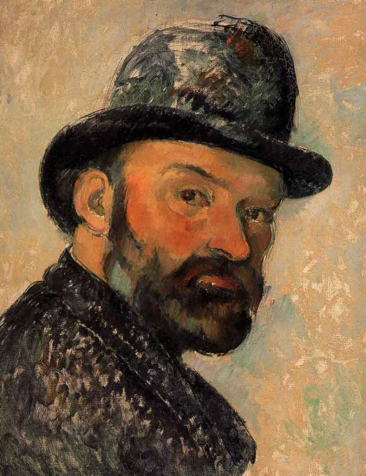 self portrait-cezanne
