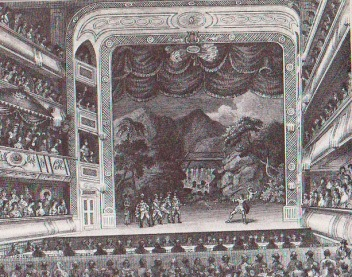 Garrick at The Drury Lane Theatre