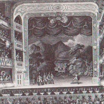 Garrick at The Drury Lane Theatre
