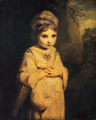 The Strawberry Girl, Joshua Reynolds (1772-73) © Wallace Collection
