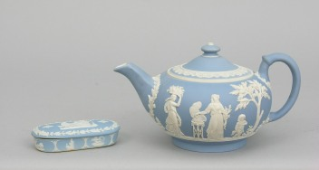 Jasperware by Wedgwood, late 1700s