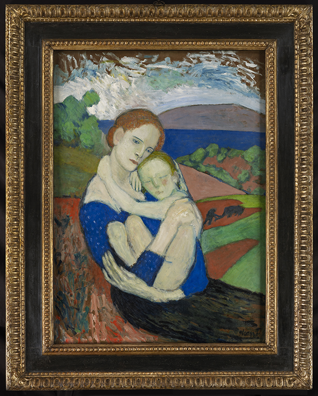 Motherhood, Pablo Picasso (1901) c. NG