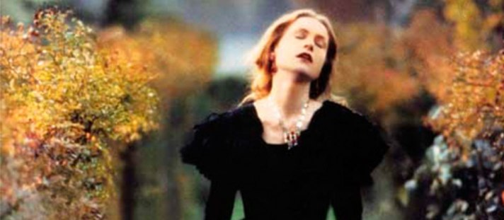 Isabelle Huppert as Madam Bovary in the 1991 film